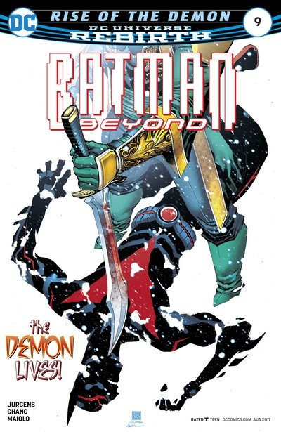 Batman Beyond #9 (2017)