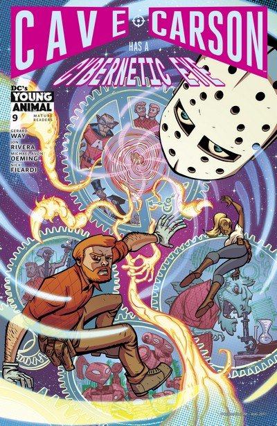 Cave Carson Has a Cybernetic Eye #9 (2017)