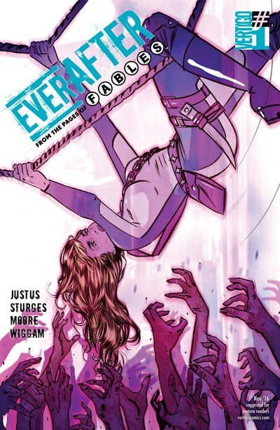 Everafter #1 – 12 + TPBs (2016-2017)
