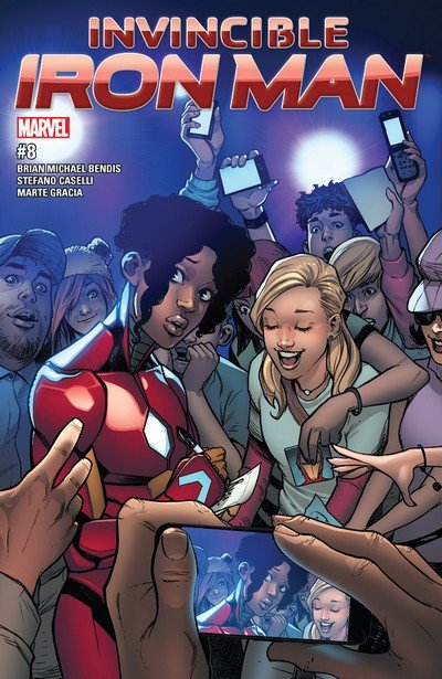 Invincible Iron Man #8 (2017)