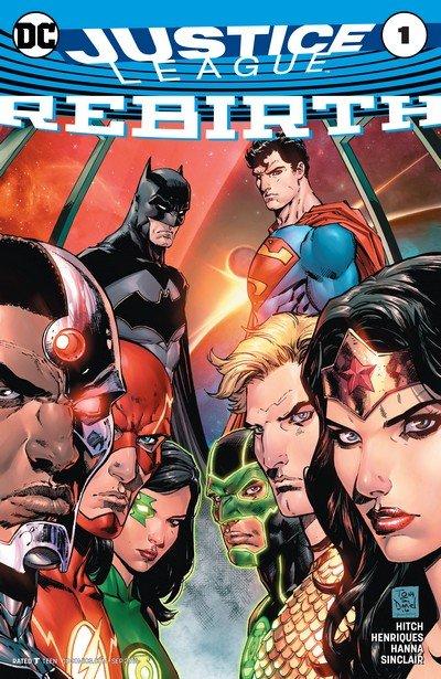 Justice League – Rebirth #1 + #1 – 21 (2016-2017)