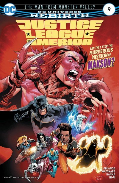 Justice League of America #9 (2017)