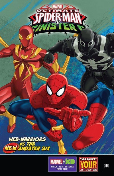 Marvel Universe Ultimate Spider-Man vs. The Sinister Six #10 (2017)