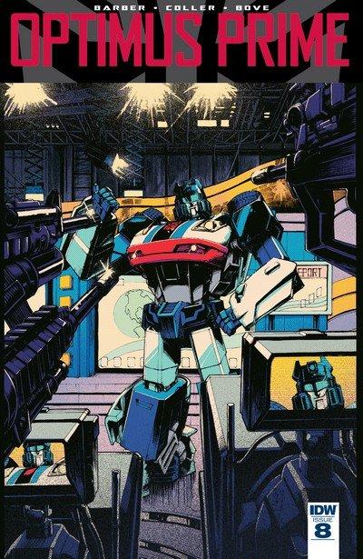 Optimus Prime #8 (2017)