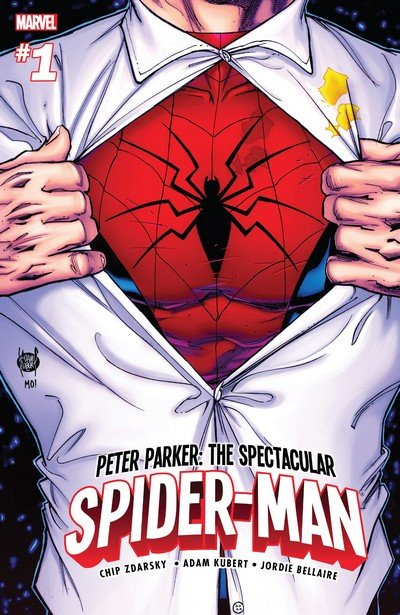 Peter Parker – The Spectacular Spider-Man #1 (2017)