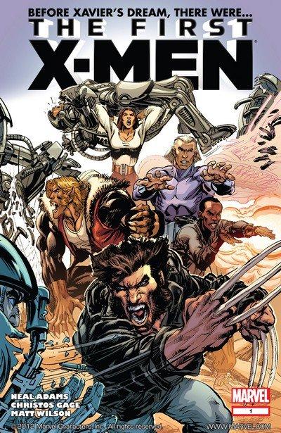 The First X-Men #1 – 5 (2012-2013)