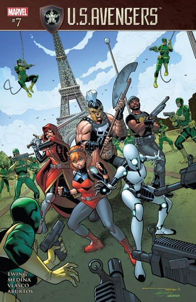U.S.Avengers #7 (2017)