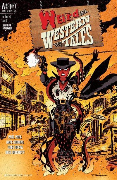 Weird Western Tales #1 – 4 (2001)