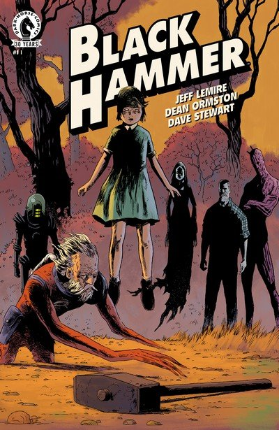 Black Hammer #1 – 10 + Giant Size Annual (2016-2017)
