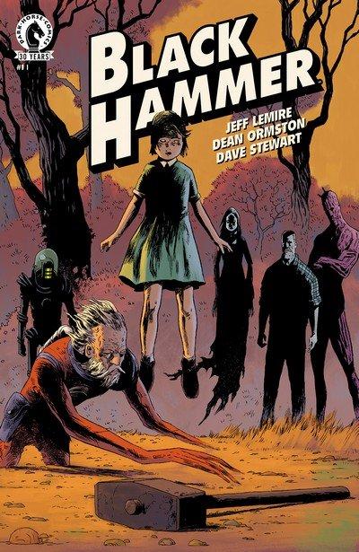 Black Hammer #1 – 13 + TPB + Extras (2016-2018)