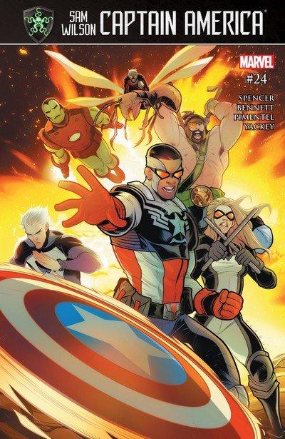 Captain America – Sam Wilson #24 (2017)