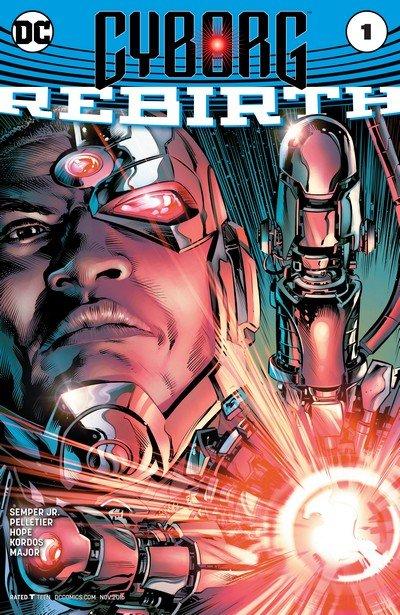 Cyborg Vol. 2 Rebirth #1 + #1 – 23 (2016-2018)