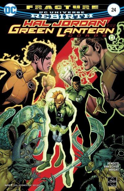 Hal Jordan and the Green Lantern Corps #24 (2017)