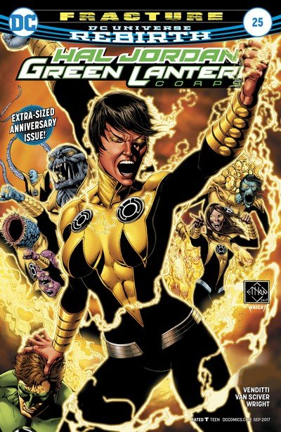 Hal Jordan and the Green Lantern Corps #25 (2017)