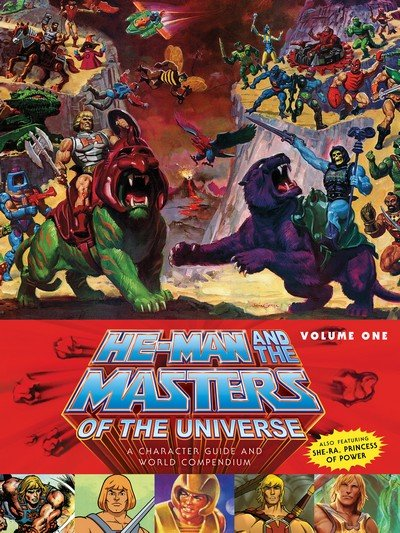 He-Man and the Masters of the Universe – A Character Guide and World Compendium Vol. 1 – 2 (2017)