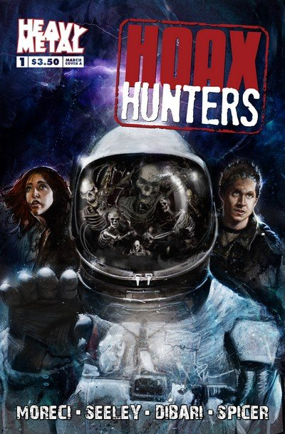 Hoax Hunters #1 – 5 (2015)