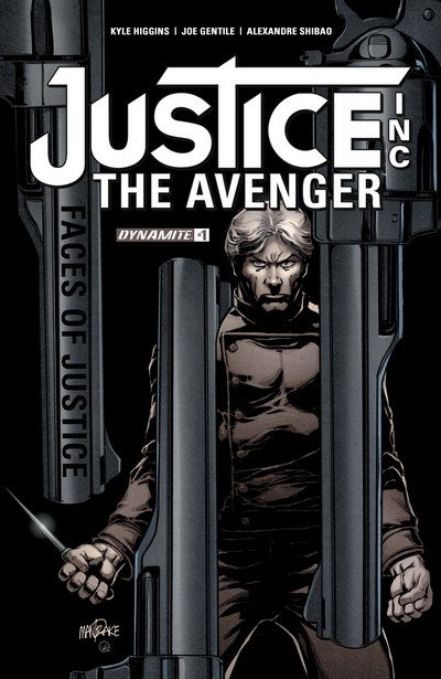 Justice Inc – The Avenger #1 – 4 (2017)