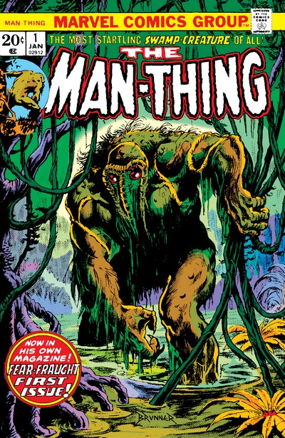 Man-Thing Vol. 1 – 5 + Extras (Collection) (1974-2020)