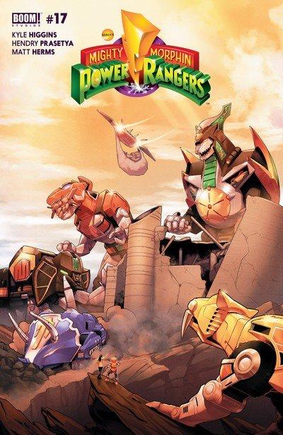 Mighty Morphin Power Rangers #17 (2017)