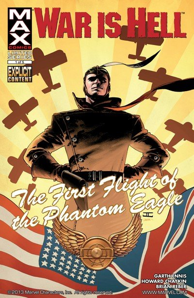 War Is Hell – The First Flight of the Phantom Eagle #1 – 5 (2008)