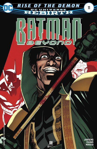 Batman Beyond #11 (2017)