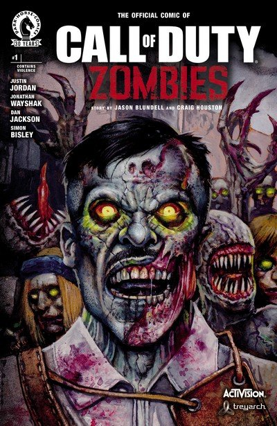 Call of Duty – Zombies #1 – 6 (2016-2017)