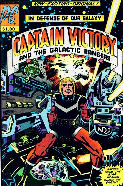 Captain Victory And The Galactic Rangers #1 – 13 + Special #1 (1981-1983)