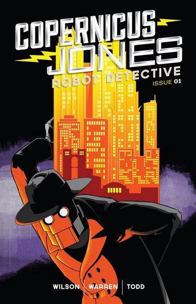Copernicus Jones – Robot Detective #1 – 9 (2014-2019)