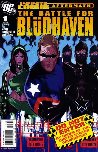 Crisis Aftermath – The Battle For Bludhaven #1 – 6 (2006)