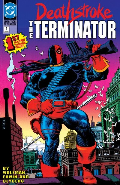 Deathstroke Vol. 1 – 4 + TPB (Collection) (1991-2017)