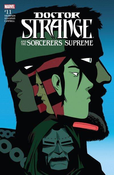 Doctor Strange and the Sorcerers Supreme #11 (2017)