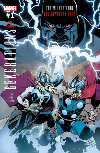 Generations – The Unworthy Thor & The Mighty Thor #1 (2017)