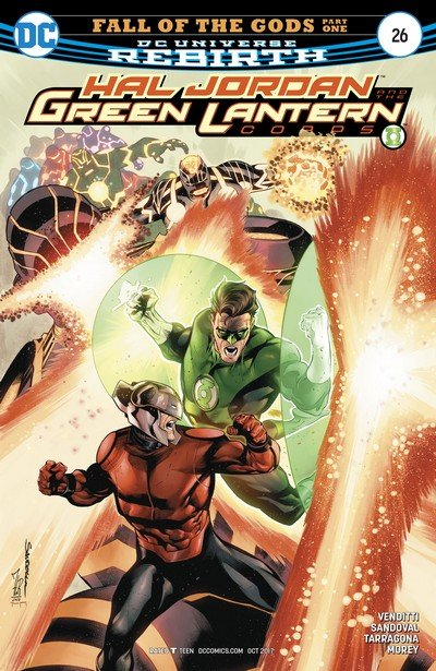 Hal Jordan and the Green Lantern Corps #26 (2017)