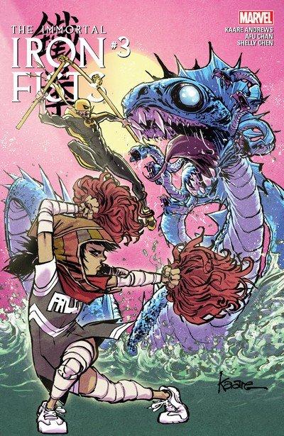 Immortal Iron Fists #3 (2017)
