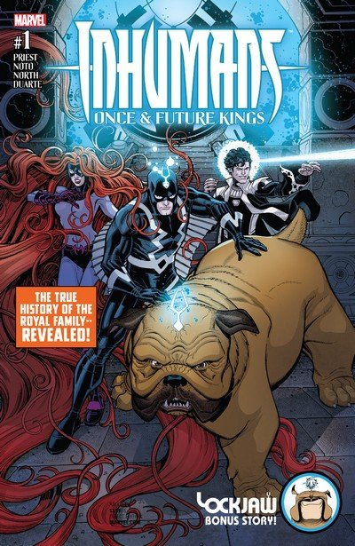 Inhumans – Once and Future Kings #1 (2017)