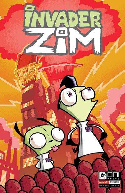Invader Zim #22 (2017)