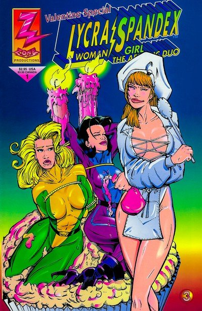 Lycra Woman and Spandex Girl – Valentine Special #1 (1993)