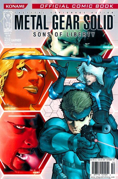 Metal Gear Solid – Sons of Liberty #0 – 12 (2005-2007)