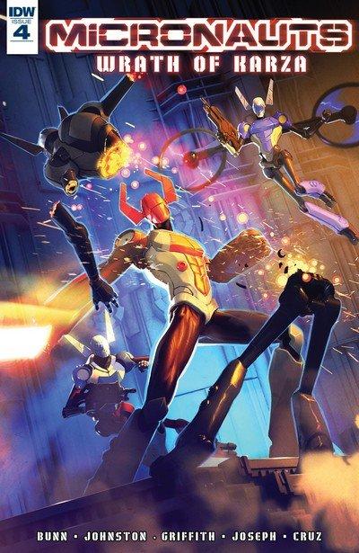 Micronauts – Wrath of Karza #4 (2017)