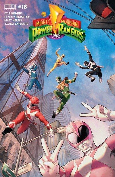 Mighty Morphin Power Rangers #18 (2017)