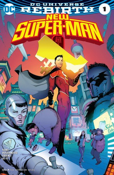 New Super-Man #1 – 14 (2016-2017)