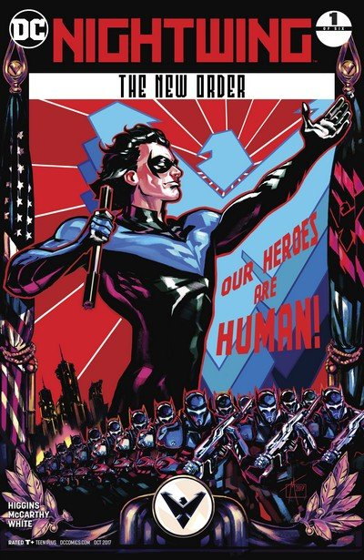 Nightwing – The New Order #1 (2017)