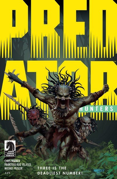 Predator – Hunters #4 (2017)