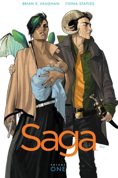 Saga Vol. 1 – 9 + Book 1 – 3 (TPB) (2012-2019)