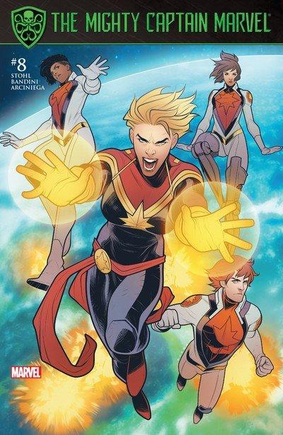 The Mighty Captain Marvel #8 (2017)