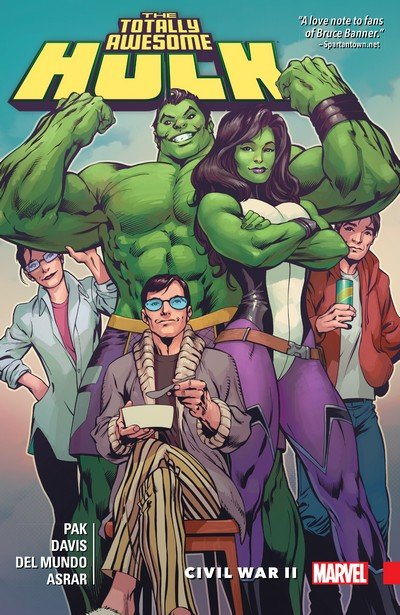 The Totally Awesome Hulk Vol. 2 – Civil War II (2016)