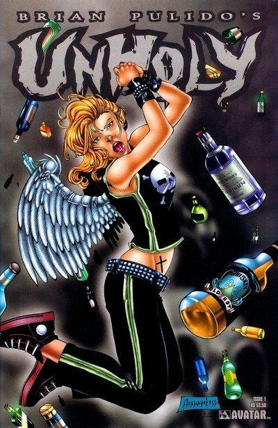 Unholy Vol. 1 #1 – 3 (2004-2005)