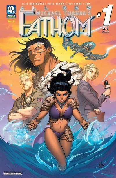 All-New Fathom Vol. 6 #1 – 8 (2017)