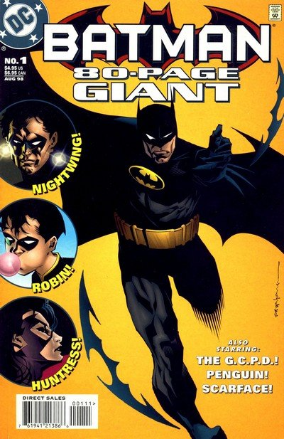 Batman 80 Page Giant #1 – 3 (1998-2000+2010+2011)