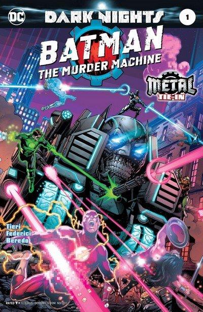 Batman – The Murder Machine #1 (2017) (Updated)